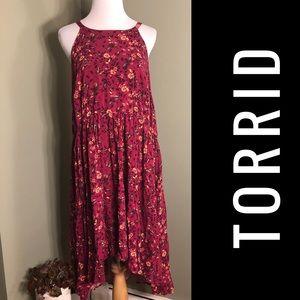 Torrid 3 sleeveless dress